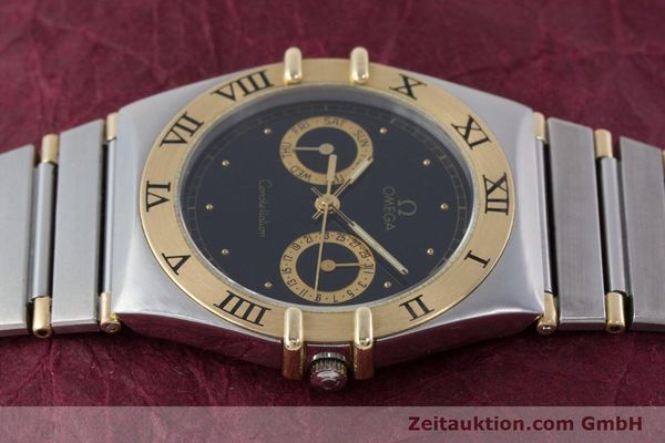 Used luxury watch Omega Constellation steel / gold quartz Kal. 1445 ETA 255.472  | 160212 05
