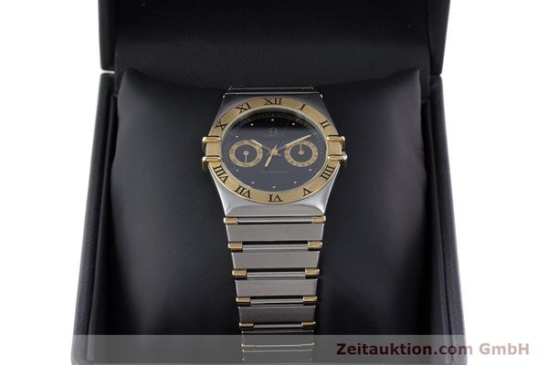 Used luxury watch Omega Constellation steel / gold quartz Kal. 1445 ETA 255.472  | 160212 07