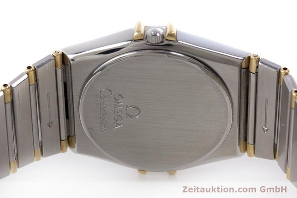Used luxury watch Omega Constellation steel / gold quartz Kal. 1445 ETA 255.472  | 160212 09