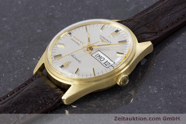 Used luxury watch Longines Admiral 18 ct gold automatic Kal. 507 Ref. 8184A VINTAGE  | 160213 01