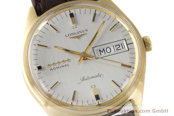 Used luxury watch Longines Admiral 18 ct gold automatic Kal. 507 Ref. 8184A VINTAGE  | 160213 02