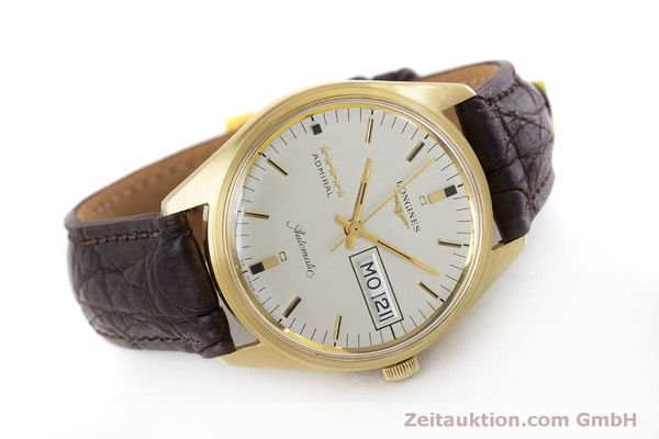 Used luxury watch Longines Admiral 18 ct gold automatic Kal. 507 Ref. 8184A VINTAGE  | 160213 03