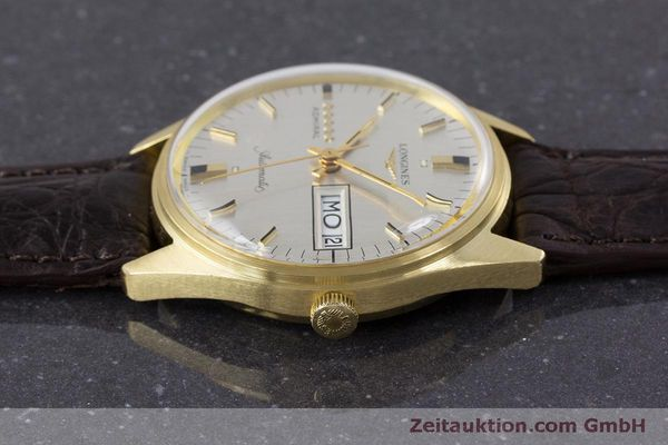 Used luxury watch Longines Admiral 18 ct gold automatic Kal. 507 Ref. 8184A VINTAGE  | 160213 05