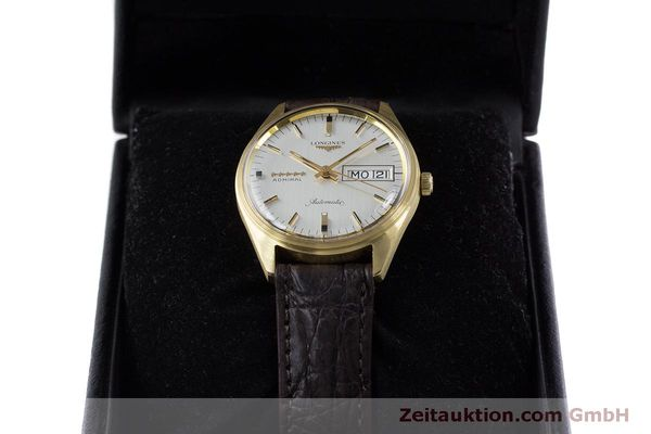Used luxury watch Longines Admiral 18 ct gold automatic Kal. 507 Ref. 8184A VINTAGE  | 160213 07