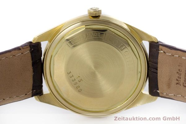 Used luxury watch Longines Admiral 18 ct gold automatic Kal. 507 Ref. 8184A VINTAGE  | 160213 08