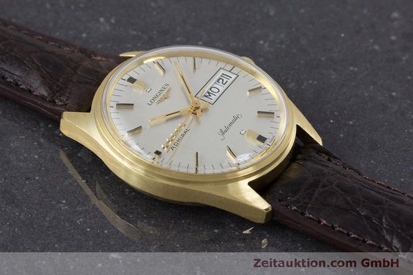 Used luxury watch Longines Admiral 18 ct gold automatic Kal. 507 Ref. 8184A VINTAGE  | 160213 13