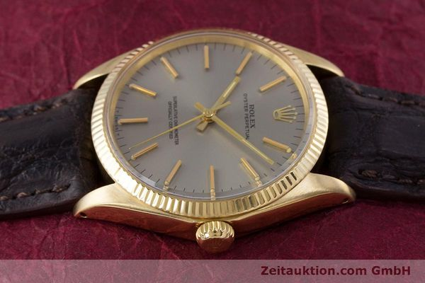 Used luxury watch Rolex Oyster Perpetual 18 ct gold automatic Kal. 1570 Ref. 1005  | 160216 05