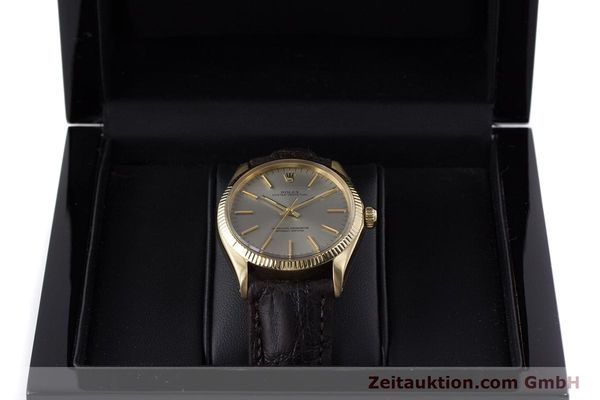 Used luxury watch Rolex Oyster Perpetual 18 ct gold automatic Kal. 1570 Ref. 1005  | 160216 07