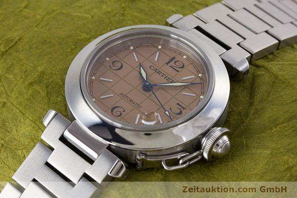 Used luxury watch Cartier Pasha steel automatic Kal. 049 ETA 2892A2 Ref. 2324  | 160221 01