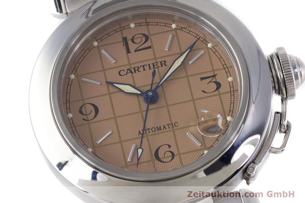 Used luxury watch Cartier Pasha steel automatic Kal. 049 ETA 2892A2 Ref. 2324  | 160221 02