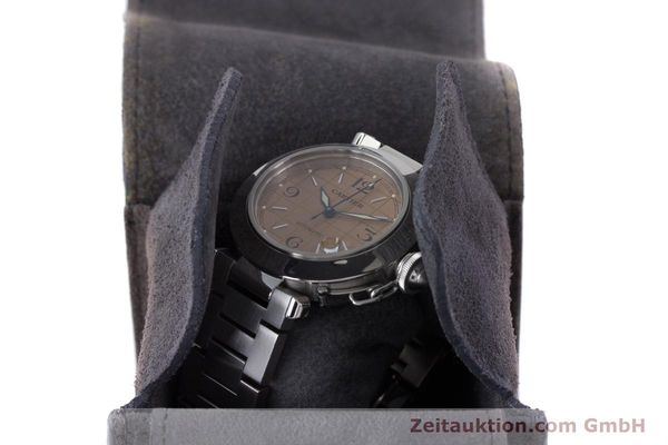 Used luxury watch Cartier Pasha steel automatic Kal. 049 ETA 2892A2 Ref. 2324  | 160221 07