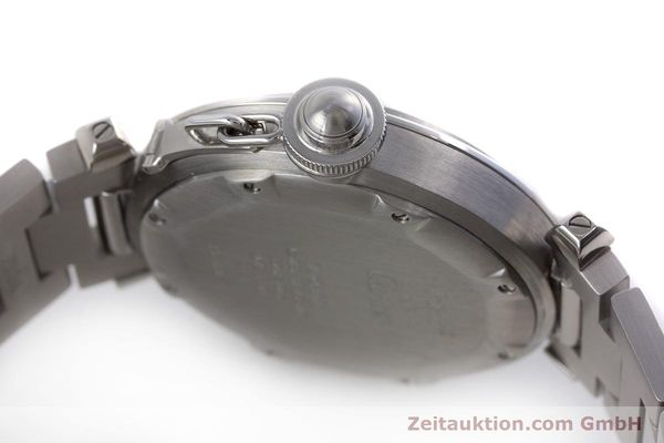 Used luxury watch Cartier Pasha steel automatic Kal. 049 ETA 2892A2 Ref. 2324  | 160221 08