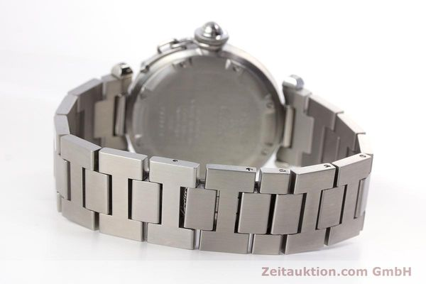 Used luxury watch Cartier Pasha steel automatic Kal. 049 ETA 2892A2 Ref. 2324  | 160221 11