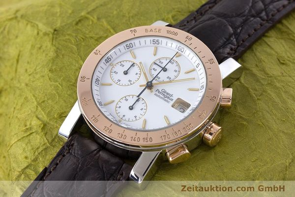Used luxury watch Girard Perregaux 7000 chronograph steel / gold automatic Kal. 800-414 Ref. 7000  | 160224 01