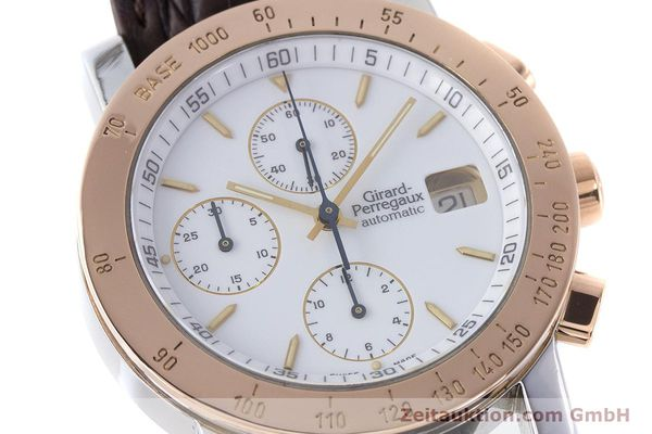 Used luxury watch Girard Perregaux 7000 chronograph steel / gold automatic Kal. 800-414 Ref. 7000  | 160224 02