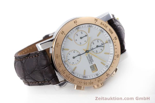 Used luxury watch Girard Perregaux 7000 chronograph steel / gold automatic Kal. 800-414 Ref. 7000  | 160224 03