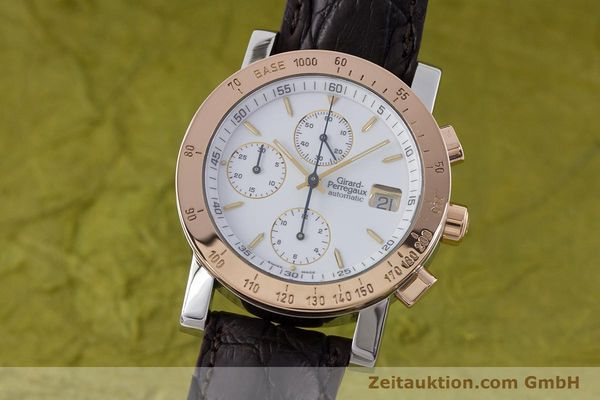 Used luxury watch Girard Perregaux 7000 chronograph steel / gold automatic Kal. 800-414 Ref. 7000  | 160224 04