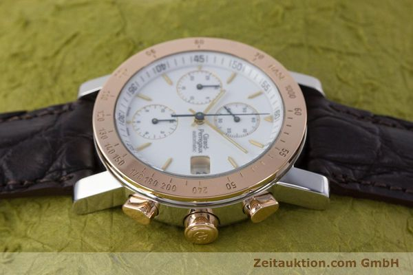 Used luxury watch Girard Perregaux 7000 chronograph steel / gold automatic Kal. 800-414 Ref. 7000  | 160224 05