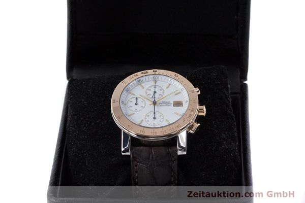Used luxury watch Girard Perregaux 7000 chronograph steel / gold automatic Kal. 800-414 Ref. 7000  | 160224 07