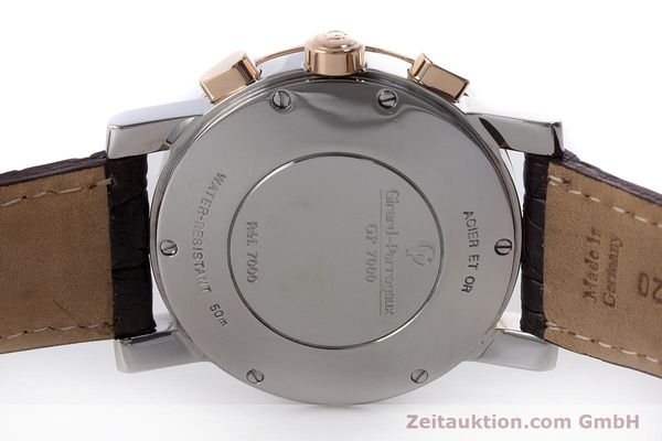 Used luxury watch Girard Perregaux 7000 chronograph steel / gold automatic Kal. 800-414 Ref. 7000  | 160224 09