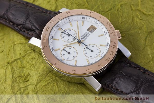 Used luxury watch Girard Perregaux 7000 chronograph steel / gold automatic Kal. 800-414 Ref. 7000  | 160224 13