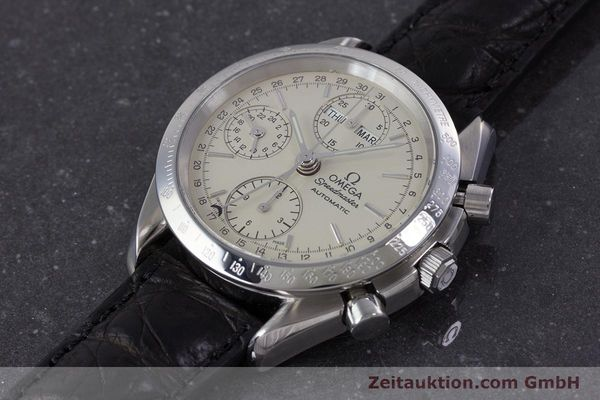 Used luxury watch Omega Speedmaster chronograph steel automatic Kal. 1150 Valj. 7750  | 160225 01