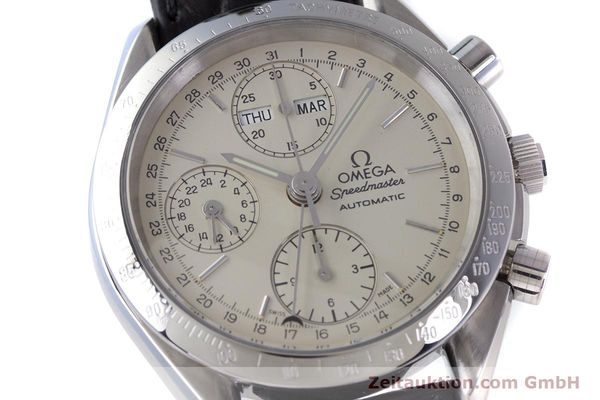 Used luxury watch Omega Speedmaster chronograph steel automatic Kal. 1150 Valj. 7750  | 160225 02
