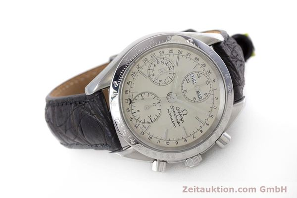 Used luxury watch Omega Speedmaster chronograph steel automatic Kal. 1150 Valj. 7750  | 160225 03