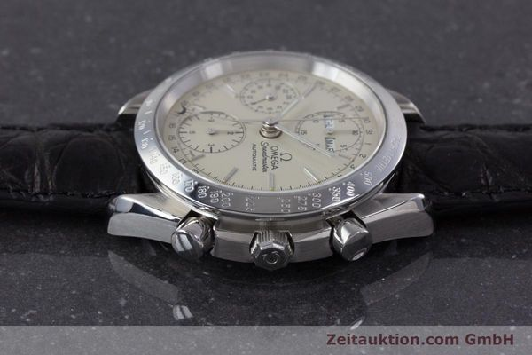 Used luxury watch Omega Speedmaster chronograph steel automatic Kal. 1150 Valj. 7750  | 160225 05