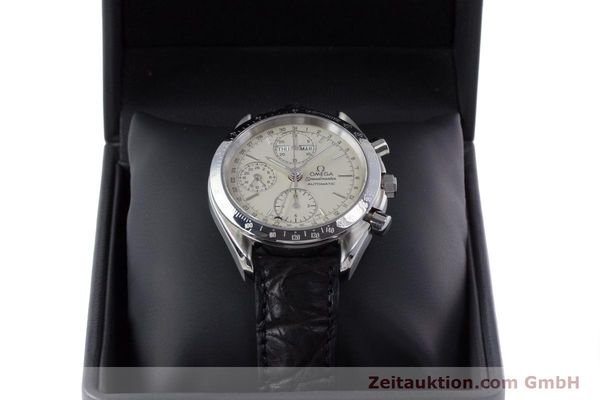 Used luxury watch Omega Speedmaster chronograph steel automatic Kal. 1150 Valj. 7750  | 160225 07