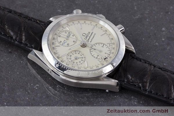 Used luxury watch Omega Speedmaster chronograph steel automatic Kal. 1150 Valj. 7750  | 160225 13