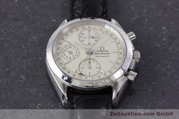 Used luxury watch Omega Speedmaster chronograph steel automatic Kal. 1150 Valj. 7750  | 160225 14