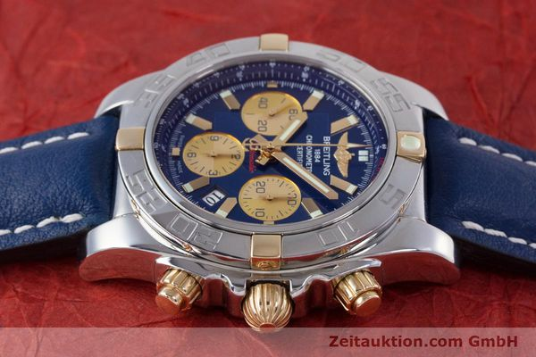 Used luxury watch Breitling Chronomat 44 chronograph steel / gold automatic Kal. B01 Ref. IB0110  | 160226 05