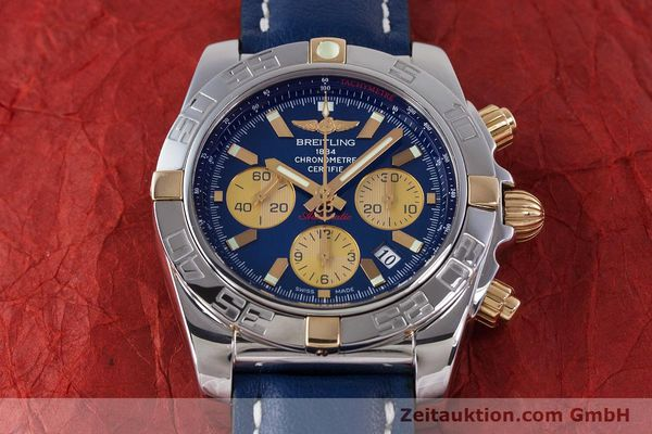 Used luxury watch Breitling Chronomat 44 chronograph steel / gold automatic Kal. B01 Ref. IB0110  | 160226 14