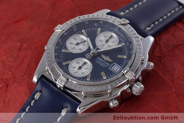 Used luxury watch Breitling Chronomat chronograph steel automatic Kal. B13 ETA 7750 Ref. A13050.1  | 160228 01
