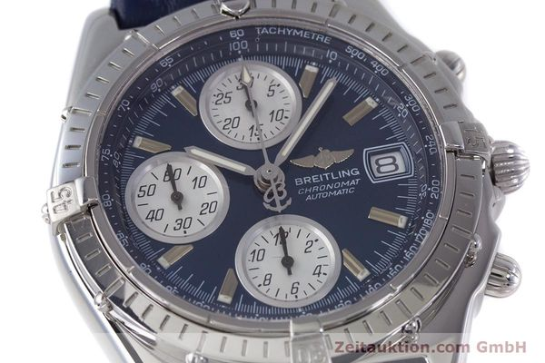 Used luxury watch Breitling Chronomat chronograph steel automatic Kal. B13 ETA 7750 Ref. A13050.1  | 160228 02
