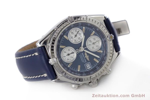 Used luxury watch Breitling Chronomat chronograph steel automatic Kal. B13 ETA 7750 Ref. A13050.1  | 160228 03