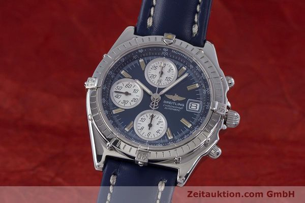 Used luxury watch Breitling Chronomat chronograph steel automatic Kal. B13 ETA 7750 Ref. A13050.1  | 160228 04