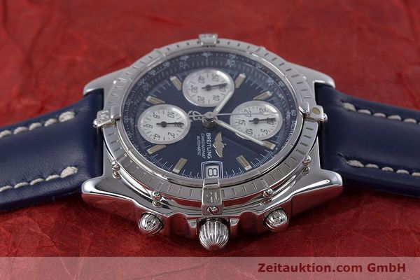 Used luxury watch Breitling Chronomat chronograph steel automatic Kal. B13 ETA 7750 Ref. A13050.1  | 160228 05