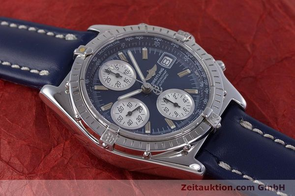 Used luxury watch Breitling Chronomat chronograph steel automatic Kal. B13 ETA 7750 Ref. A13050.1  | 160228 14