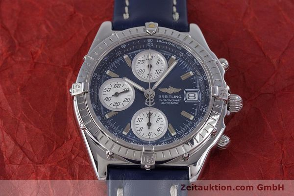 Used luxury watch Breitling Chronomat chronograph steel automatic Kal. B13 ETA 7750 Ref. A13050.1  | 160228 15