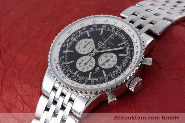 Used luxury watch Breitling Navitimer chronograph steel automatic Kal. B35 ETA 2892A2 Ref. A35340  | 160229 01