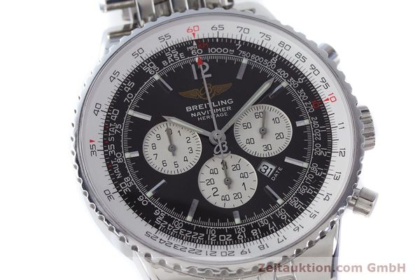 Used luxury watch Breitling Navitimer chronograph steel automatic Kal. B35 ETA 2892A2 Ref. A35340  | 160229 02