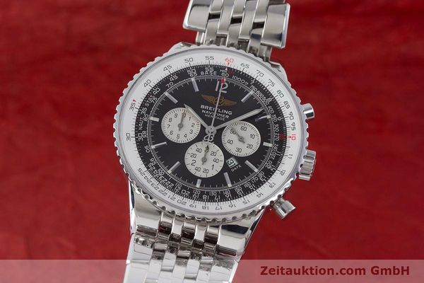 Used luxury watch Breitling Navitimer chronograph steel automatic Kal. B35 ETA 2892A2 Ref. A35340  | 160229 04