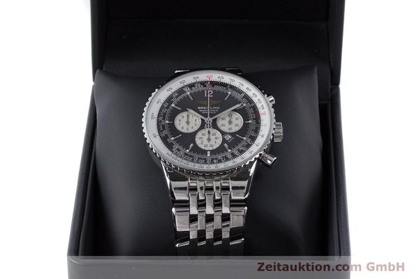Used luxury watch Breitling Navitimer chronograph steel automatic Kal. B35 ETA 2892A2 Ref. A35340  | 160229 07