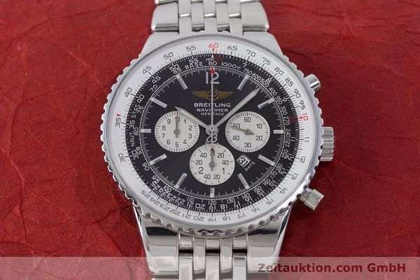 Used luxury watch Breitling Navitimer chronograph steel automatic Kal. B35 ETA 2892A2 Ref. A35340  | 160229 15
