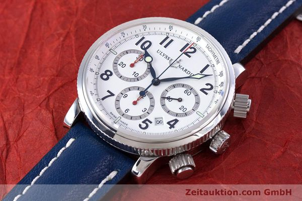Used luxury watch Ulysse Nardin Marine Chronograph chronograph steel automatic Kal. UN-35-16-2129 Ref. 353-88  | 160234 01