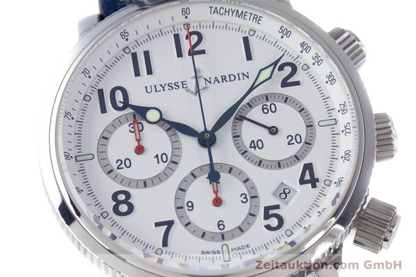 Used luxury watch Ulysse Nardin Marine Chronograph chronograph steel automatic Kal. UN-35-16-2129 Ref. 353-88  | 160234 02