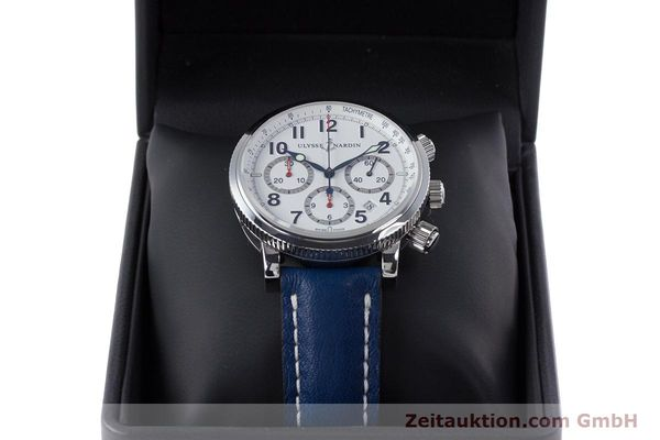 Used luxury watch Ulysse Nardin Marine Chronograph chronograph steel automatic Kal. UN-35-16-2129 Ref. 353-88  | 160234 07