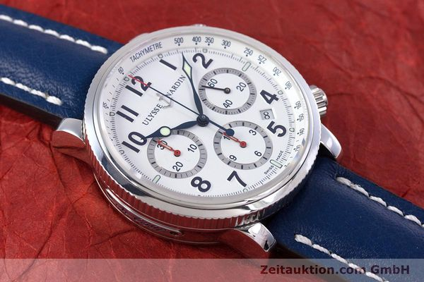 Used luxury watch Ulysse Nardin Marine Chronograph chronograph steel automatic Kal. UN-35-16-2129 Ref. 353-88  | 160234 15